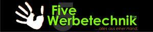 Logo five-werbetechnik lang 700x150 Pixel