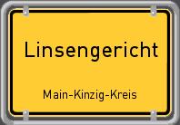 Ortsschild Linsengericht 2 198x138