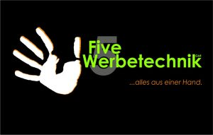 Logo five-werbetechnik mittel